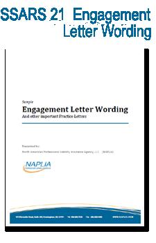 sample SSARS 21 engagement letter