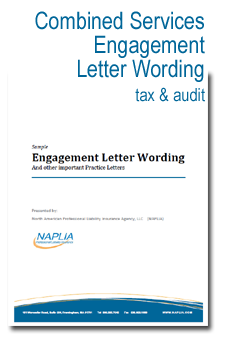 combined service engagement letter