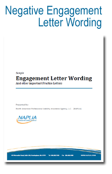 sample negative engagement letter