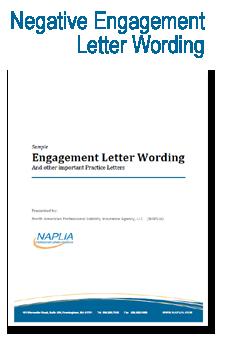 sample negative engagement letter