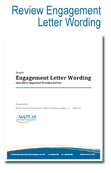sample review engagement letter