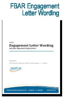 sample fbar engagement letter