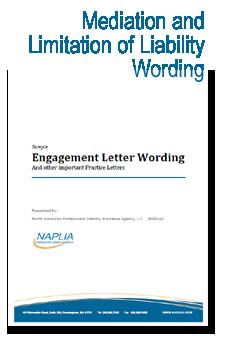 sample ADR & limitation of Liability wording