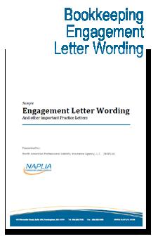 sample bookkeeping engagement letter