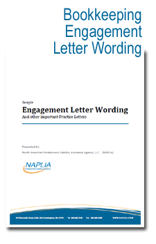 sample bookkeeping engagement letter