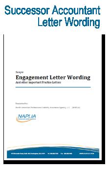 sample successor accountant letter wording