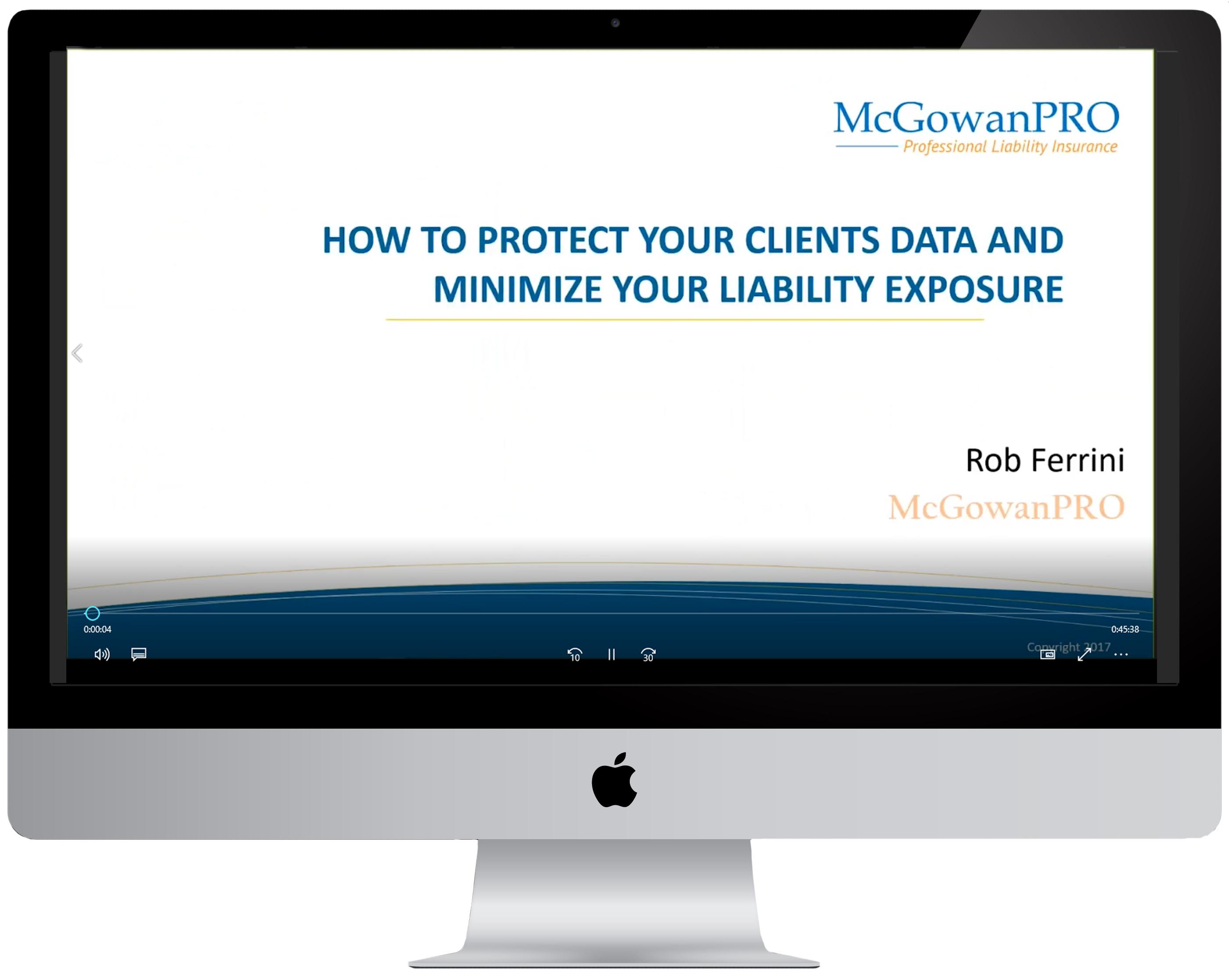Webinar-Minimize your liability exposure